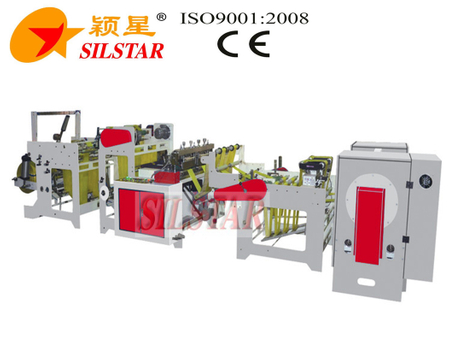 GBDSA-500 High Speed Star Seal Garbage Bag Making Machine 440pcs/min